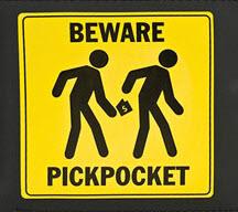 bewareofpickpockets