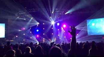 Worship-lights-megachurch-facebook